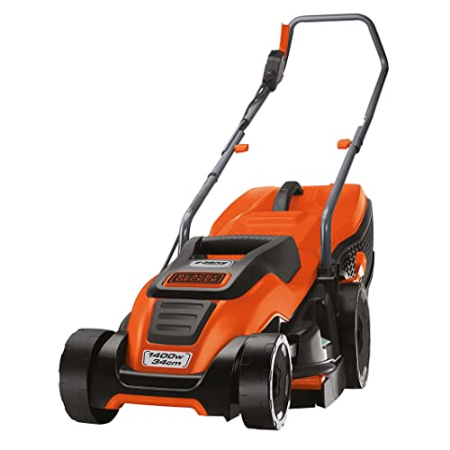 Black & Decker EMAX34S - Cortacésped (Cortacésped manual, 34 cm, 2 cm,