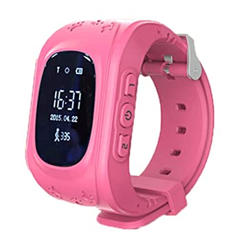 332PageAnn Reloj Inteligente Niño Q50 Deportivo Bluetooth Smartwatch En La Muñeca SOS Emergencia Fitness Tracker Pantalla Táctil Ranura para Android Azul ...