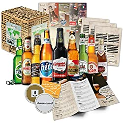 """""""9 Specialità della Birra del Mondo"""". La migliore birra del mondo. Una delle migliori idee regalo per gli uomini (Compleanno, Natale, Befana, Anniversario)"""