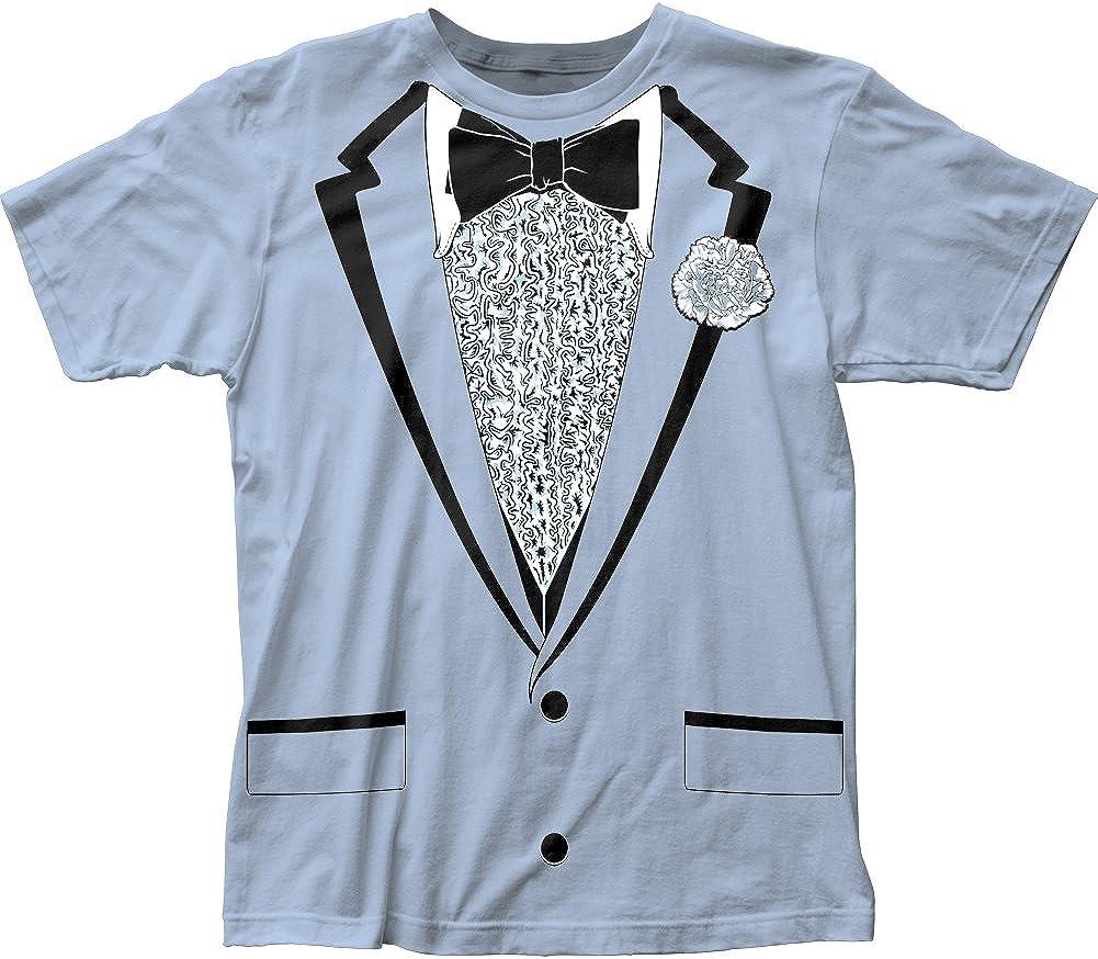 Tuxedo Big Print Costume Originals Licensed Adult T Shirt