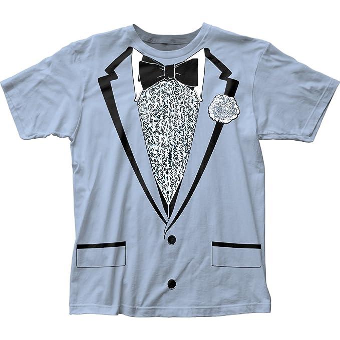 Amazon.com: Impact Originals Retro Prom Blue Tux T-shirt: Clothing