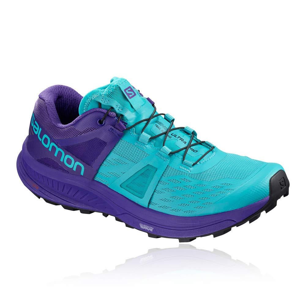 bleu Salomon Ultra Pro W - Chaussures Trail Femme