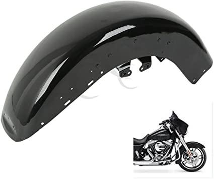 TCMT Black Front Fender For Harley Touring Model Road King FLHR Electra Glide FLHT
