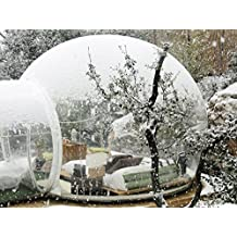 Generi Clear Bubble Tent 3-4 person includes inflatable pump and repair kit