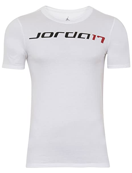 fc6a8e65797 Nike Air Jordan Retro 17 Plus Mens T-Shirt White at Amazon Men's ...