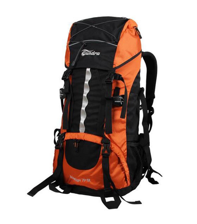 ハイキングバッグ 天蓋を持つ男性登山バッグ70肩lバックパック てんがいをもつだんせいとざんばっぐ70かたlばっくぱっく ハイキングバックパック ( 色 : オレンジ , サイズ さいず : 70+10L ) 70+10L オレンジ B07C9RCTMG