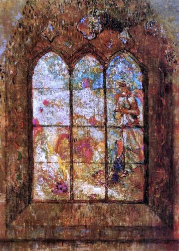 Giovanni Renica Stained Glass Window (also known as Hiya) - 16