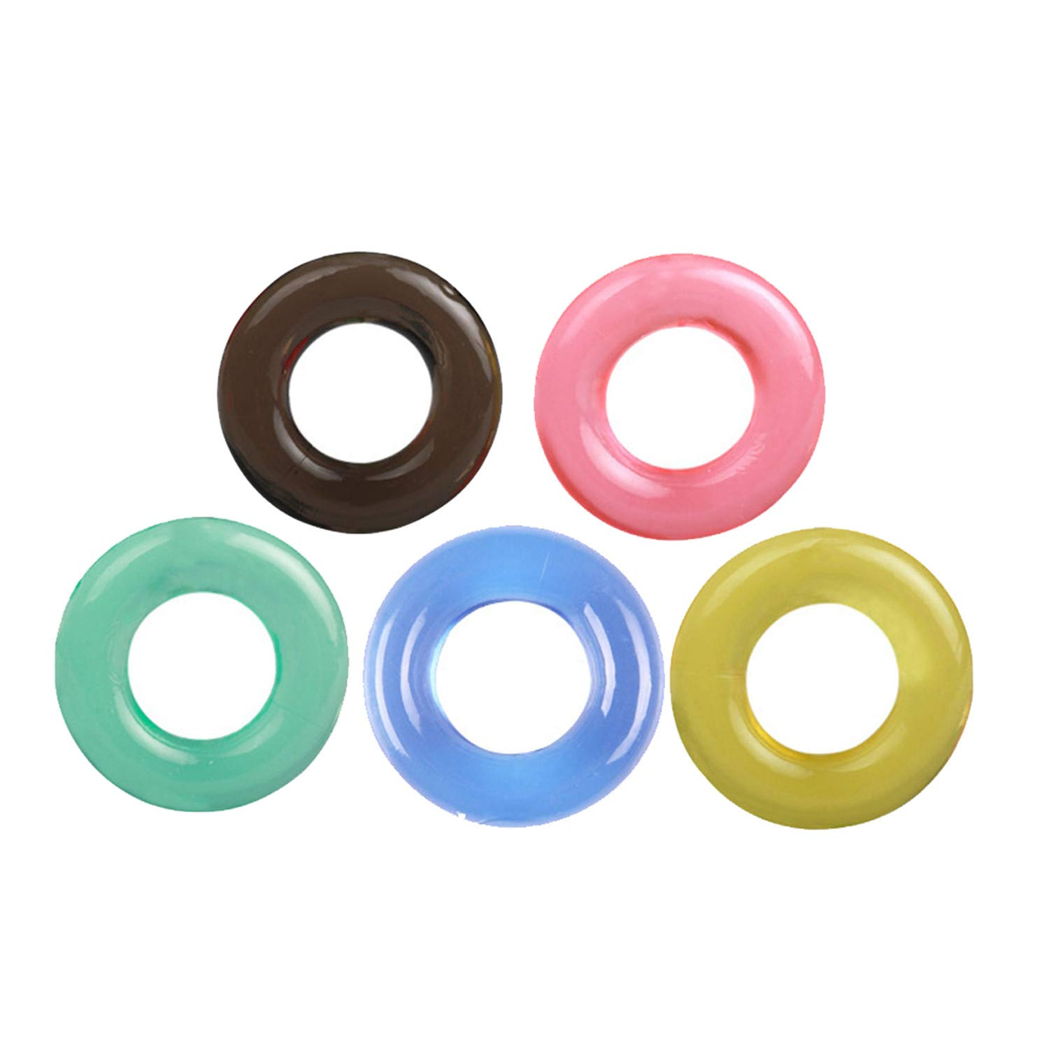 376232350 Amazon.com  Lingerie Male Products Locking Rings Man Extended Time (Multi- Color)