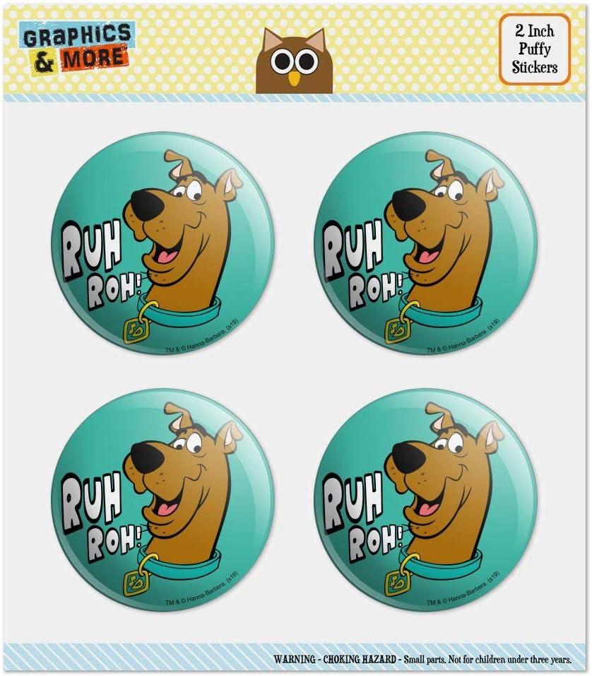 300 Stickers 8 x 8 Inches Scoob Sticker Pad