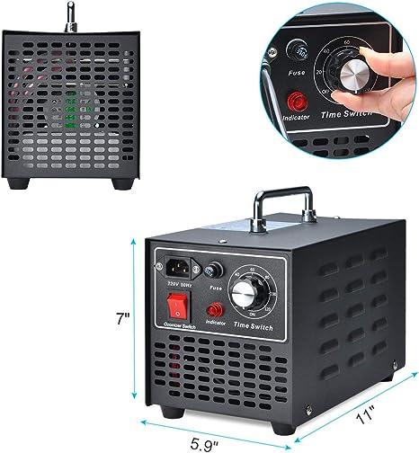 Songway Ozone Generator Esterilizador de aire para eliminar olores ...