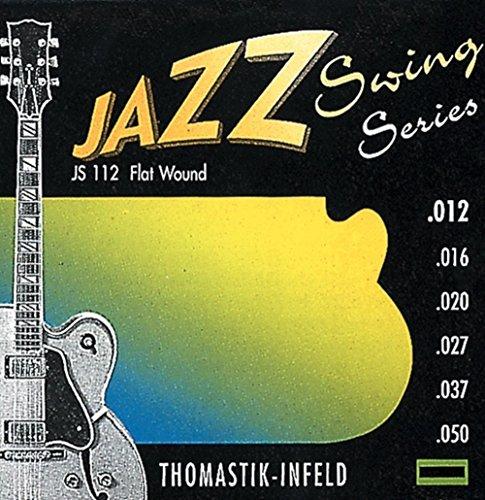 Thomastik JS112 Set Med-Lite Jazz Swing Flat Guitar