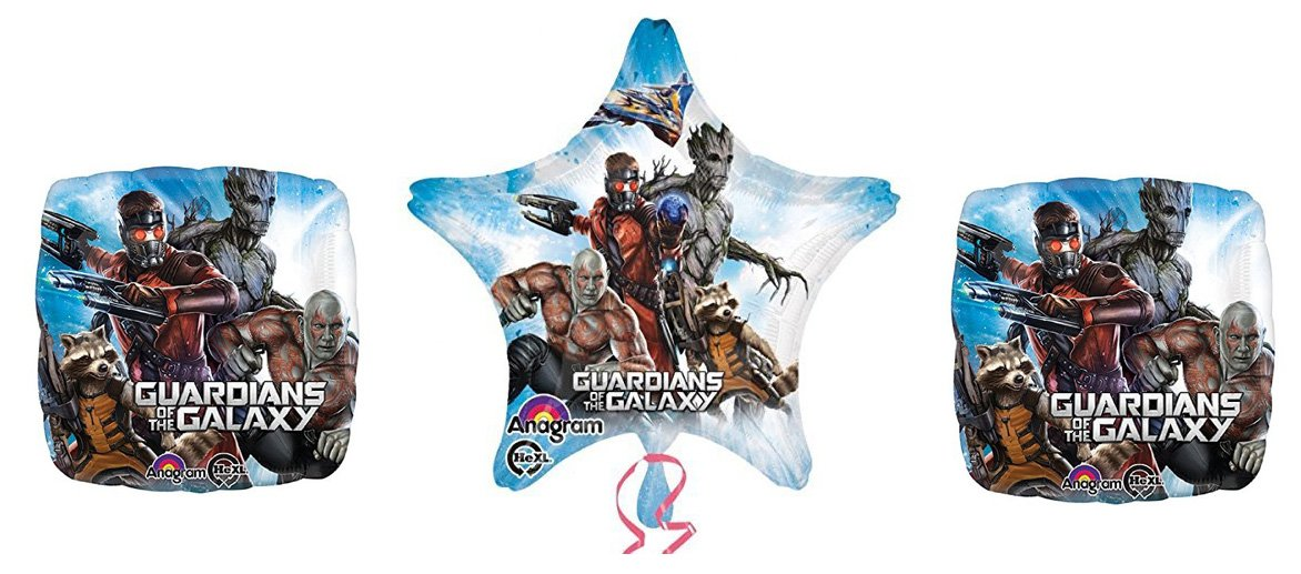 3 Guardians Of The Galaxyバルーンブーケ   B017EYLCNS