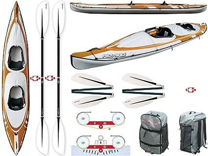 BIC Sport - Canoa hinchable Nomad HP 3 y1005 + 2 Pagaia ...