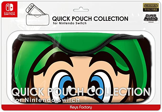 Keys Factory Quick Pouch Collection For NIntendo Switch Super ...