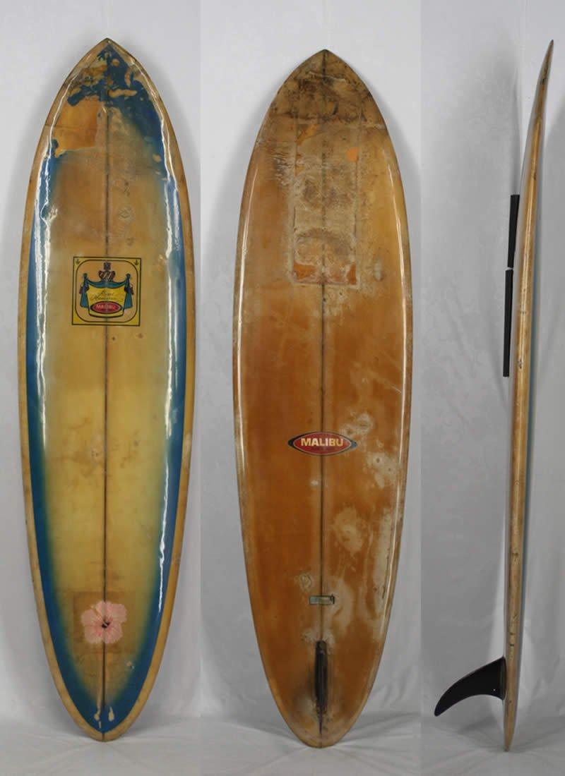 美品  7'0 ビンテージ MALIBU SURF BOARD MALIBU ヴィンテージ SURF BOARD サーフボード B00VB9MX3G, 丹波山村:5e3263f0 --- conffianca.com