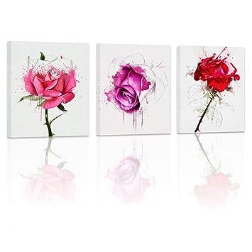 Rose wall decor
