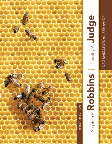 Organizational Behavior (15th Edition)
