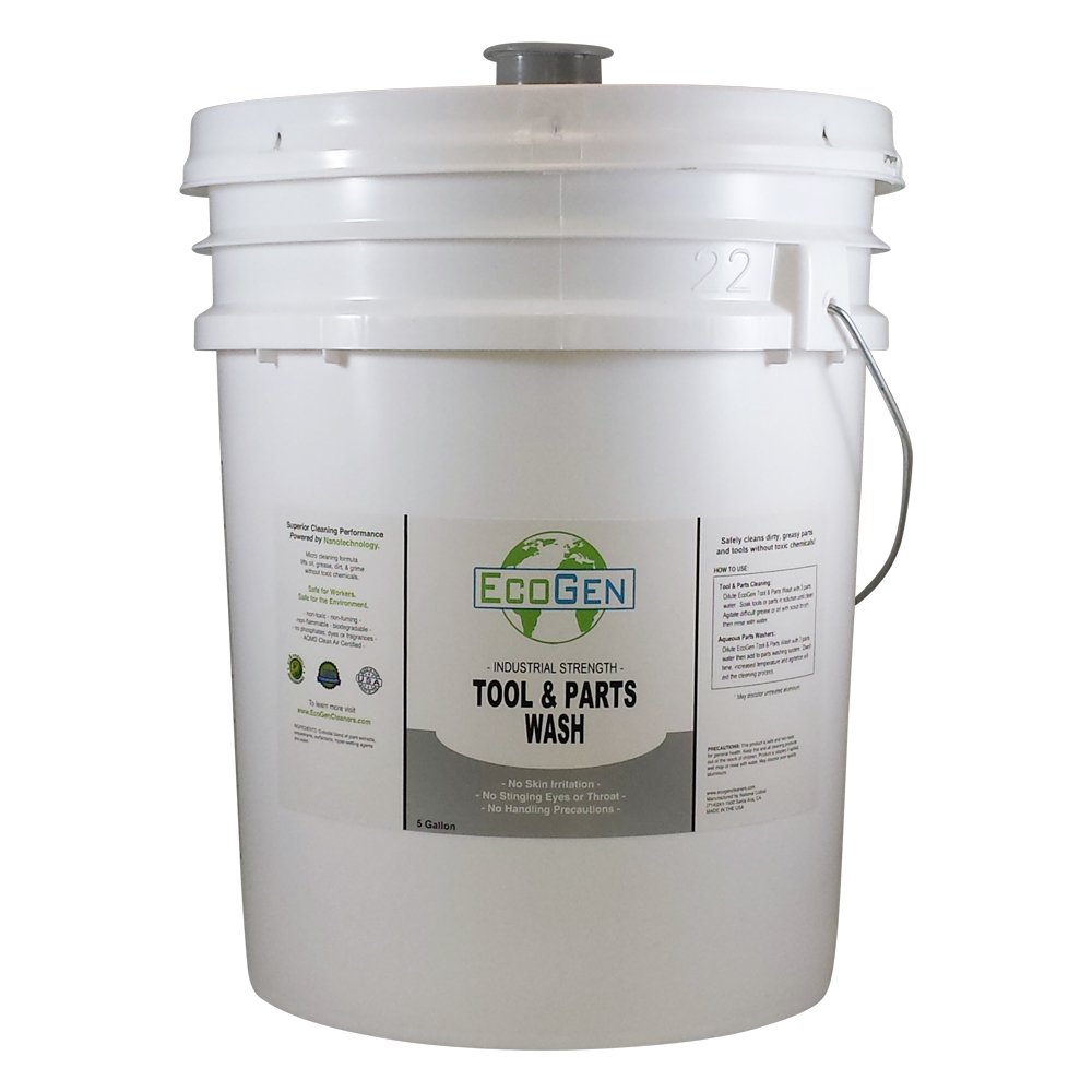 EcoGen ECOPRT-B Tool & Parts Cleaner Concentrate, 5 gal Bucket by EcoGen (Image #1)