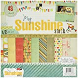 Die Cuts With A View 48-Sheet Premium Stack, 12-inches by 12-inches, My Sunshine