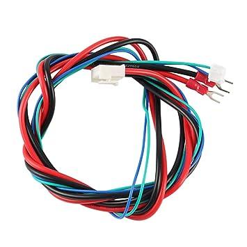 Fotica - Línea de Cama calefactada, Cable de 90 cm para Impresora ...