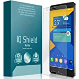 OnePlus 3 Screen Protector, IQ Shield® Matte Full Coverage Anti-Glare Screen Protector for One Plus 3 Bubble-Free Film - with