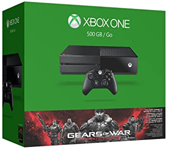 Amazon Com Xbox One 500gb Console Gears Of War Ultimate Edition Bundle Video Games