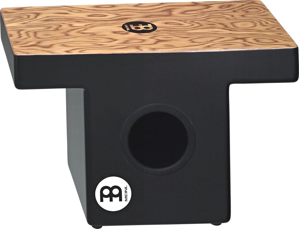 Meinl Percussion TOPCAJ1MB Makah Burl Slap-Top Cajon with Internal Snare and Forward Projecting Sound Ports (VIDEO)