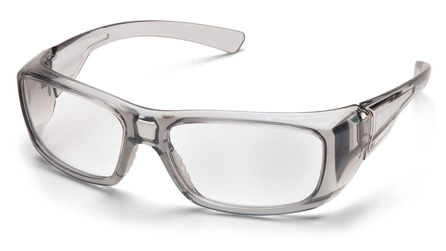 2.0/Lens by Pyramex Safety Pyramex Safety sg7910d20/Ressort Grey Frame With Clear
