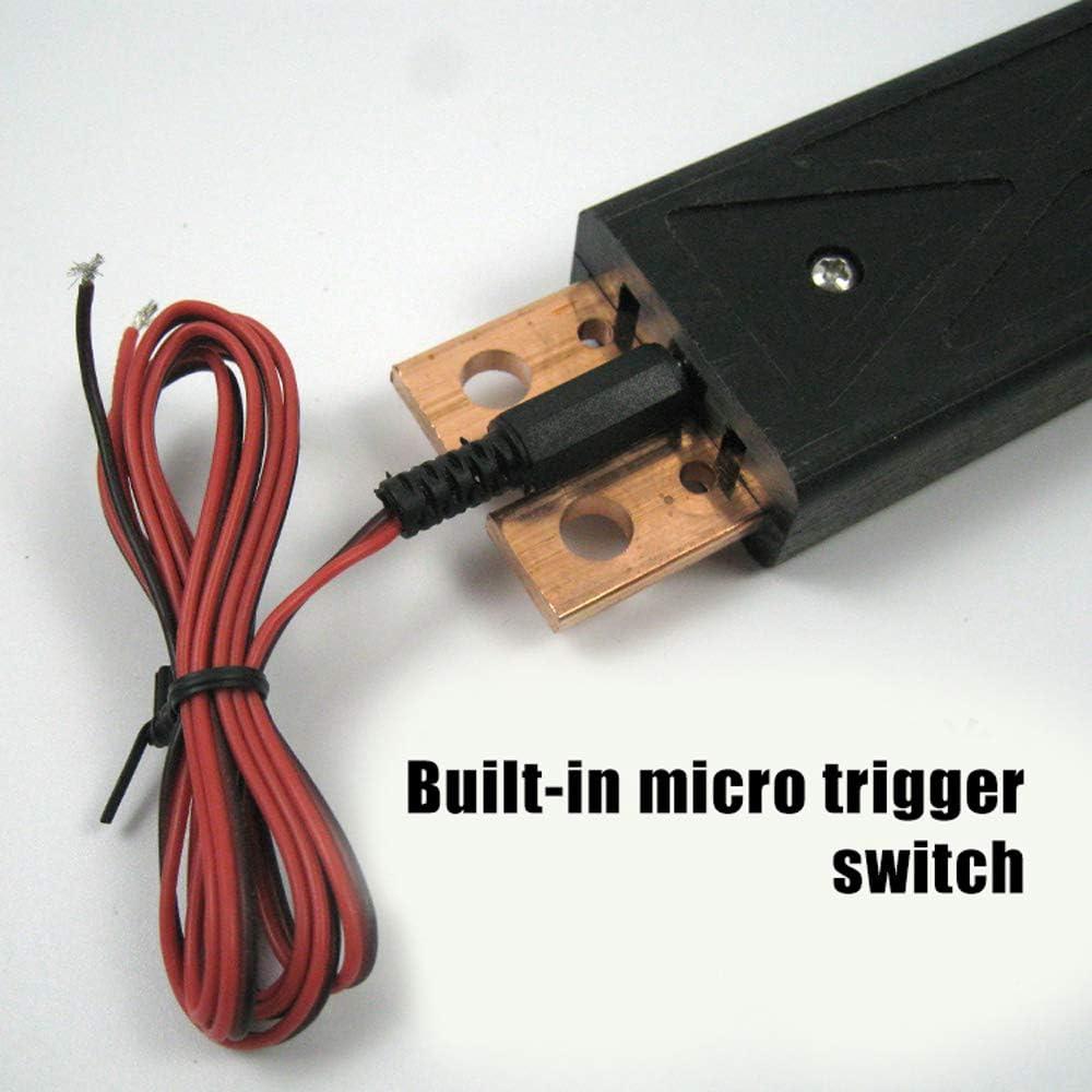 KKmoon S3 Integrierter Kupfer Punktschwei/ßen Stift Eingebaute Federdruck Einstellschraube