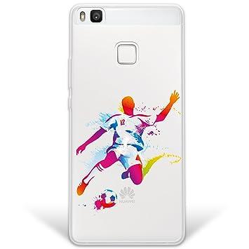 WoowCase Funda Huawei P9 Lite, [Hybrid] Jugador de Fútbol ...