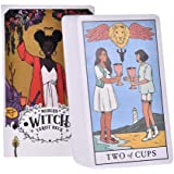 78Pcs/Set The Modern Witch Tarot Deck Tarot Cards and Book for Beginners Set,Oracle Cards,Tarot Cards,Board Game…