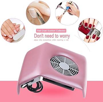 Vinteky® Aspirador para Polvo de Uñas Aspirador para uñas Succión ...