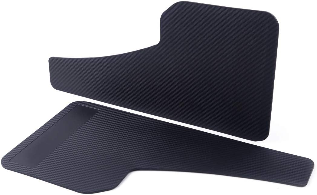 CITALL 2 pieces of ABS carbon fiber car fender front and rear wheel forming fender fender