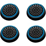 INSTEN [2 Pair / 4 Pcs Wireless Controllers Silicone Analog Thumb Grip Stick Cover, Game Remote Joystick Cap Compatible…