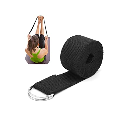 Amazon.com : Stebcece Yoga Straps with Adjustable D-Ring ...