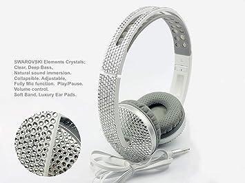 29bf5142870 Blingustyle SWAROVSKI ELEMENTS Crystal Ear-Cup: Amazon.co.uk ...