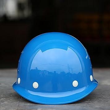UxradG Casco de Seguridad para Sombrero Duro, Construcción de Casco de Seguridad a Prueba de
