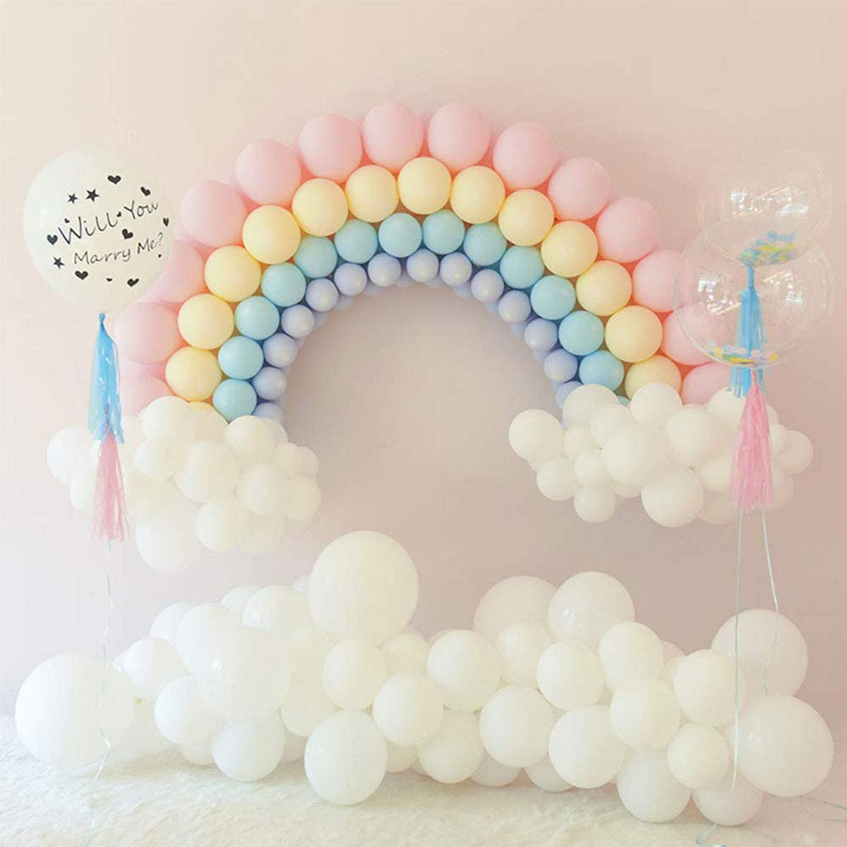 Decorations and Baby Shower Supplies Party Balloons Multicolor for Birthday Wedding