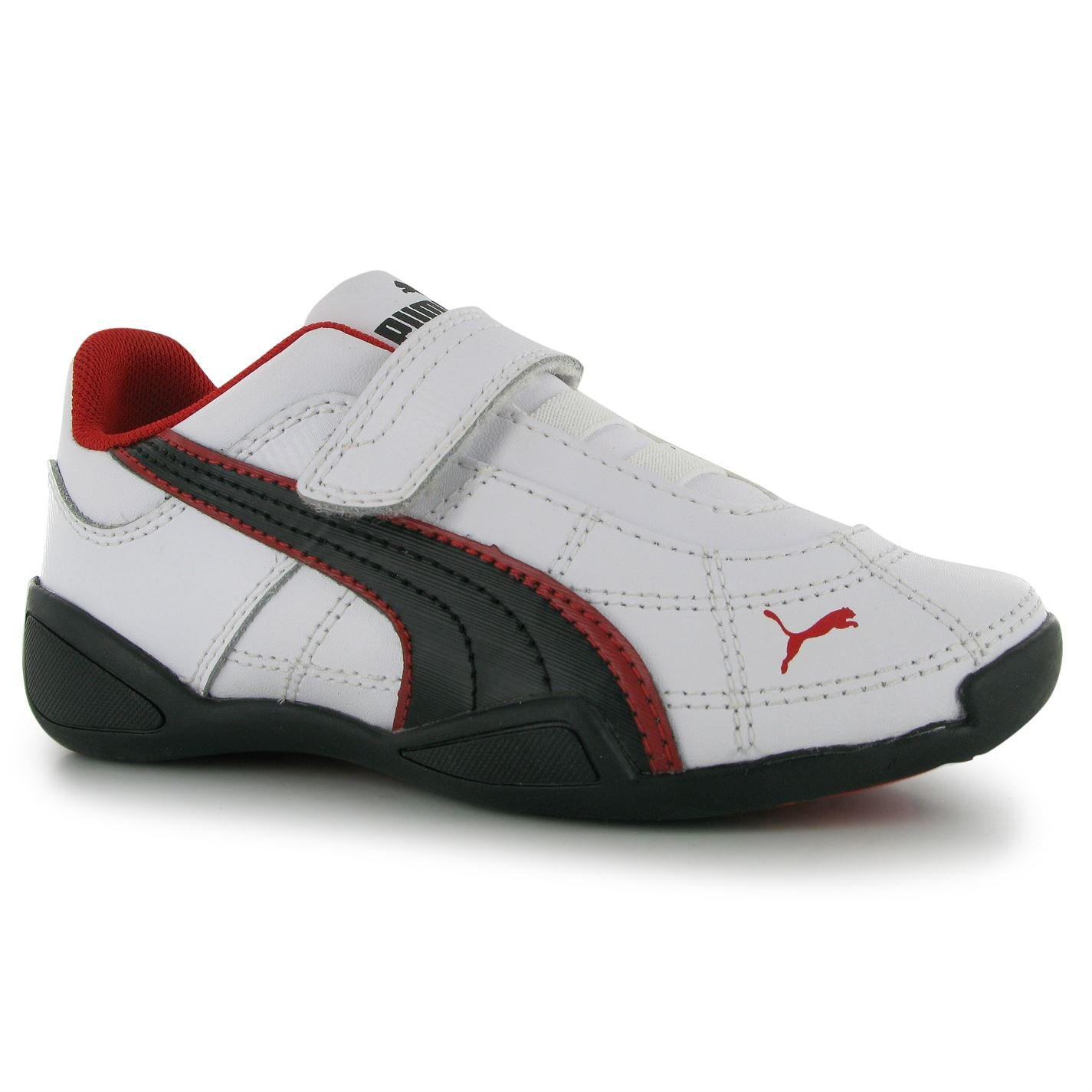Puma Kids Tune Cat Childs Trainers White Black Red C10  Amazon.co.uk  Shoes    Bags d8e1e8773