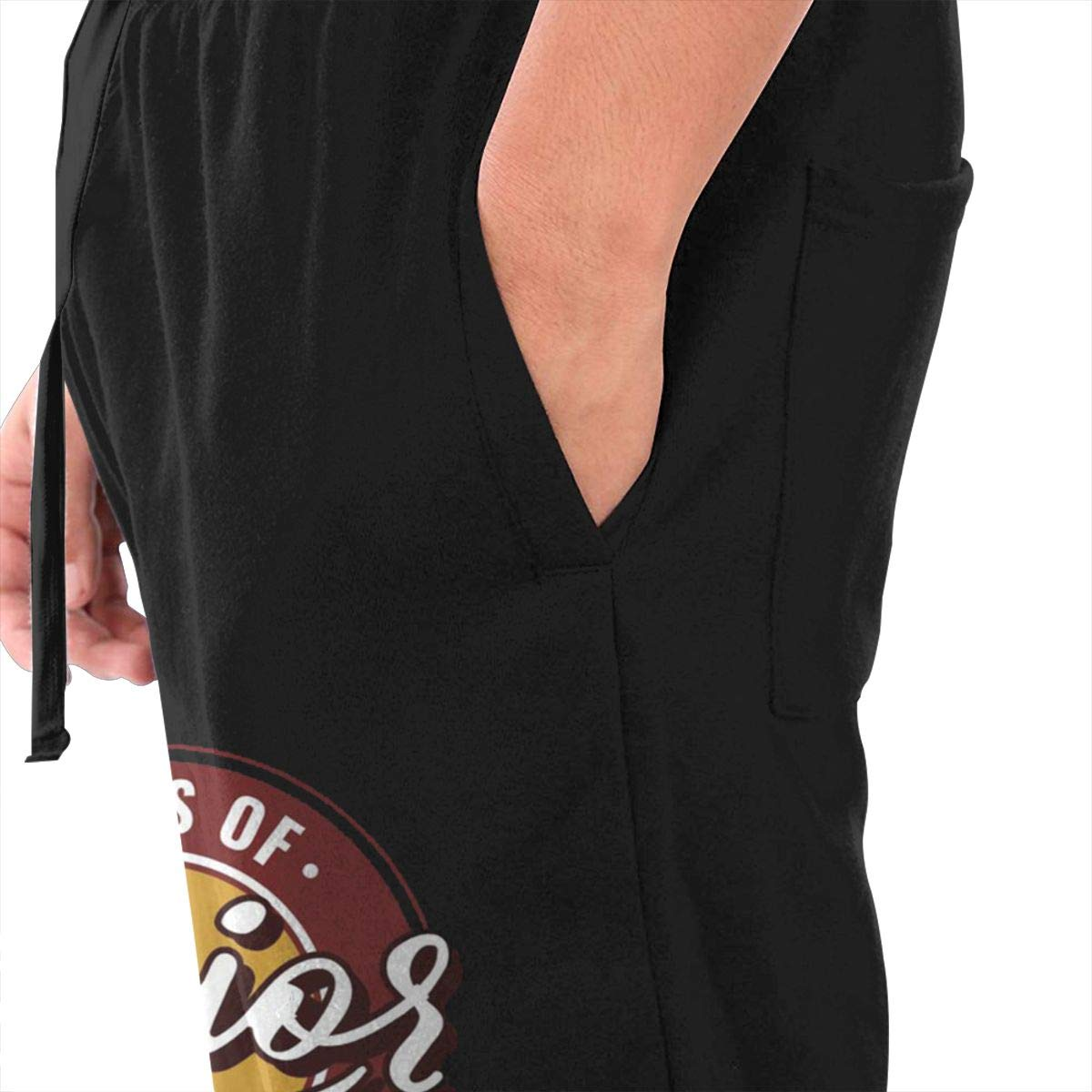 RYUIS Senior Class of 2019 Badge Drawstring Waist,100/% Cotton,Elastic Waist Cuffed,Jogger Sweatpants