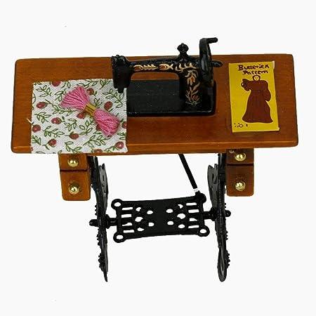 Beito Vintage Mini máquina de Coser DIY Decoración de Accesorios ...