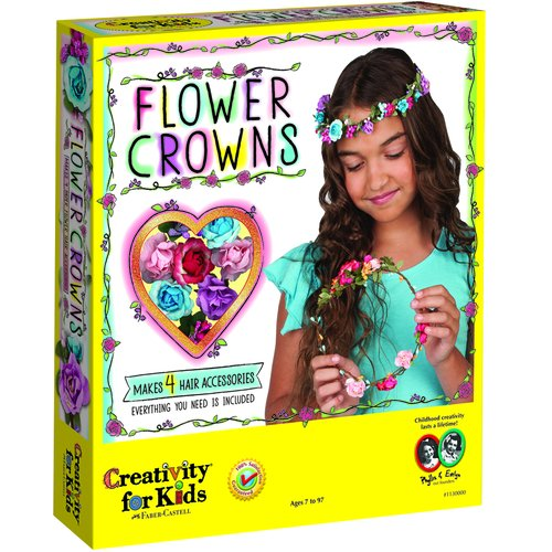 Creativity for Kids Flower Crowns