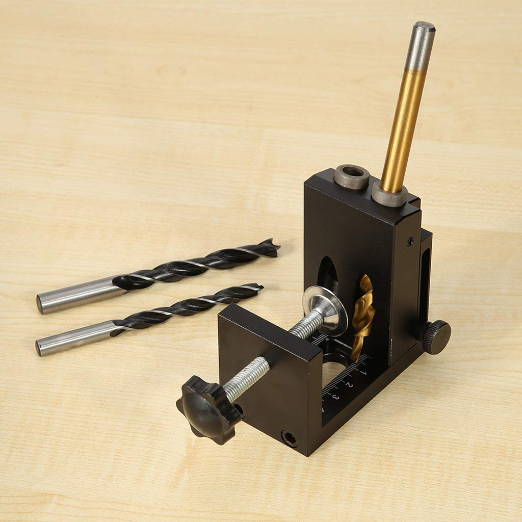 Wabaodan Woodworking Oblique Hole Locator Hole Drilling Guide Kit Furniture Puncher Drilling Holes by Wabaodan (Image #9)