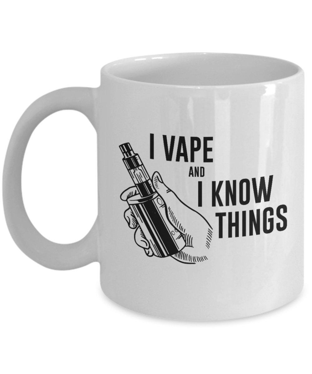 Amazon Com Jyotis I Vape And I Know Things Coffee Mug Game Of