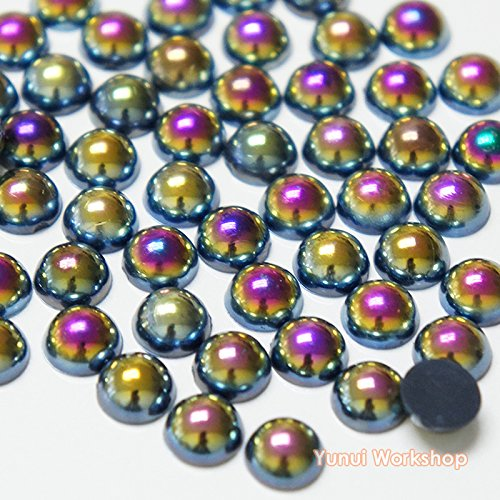 resin pearl cabochons - 6