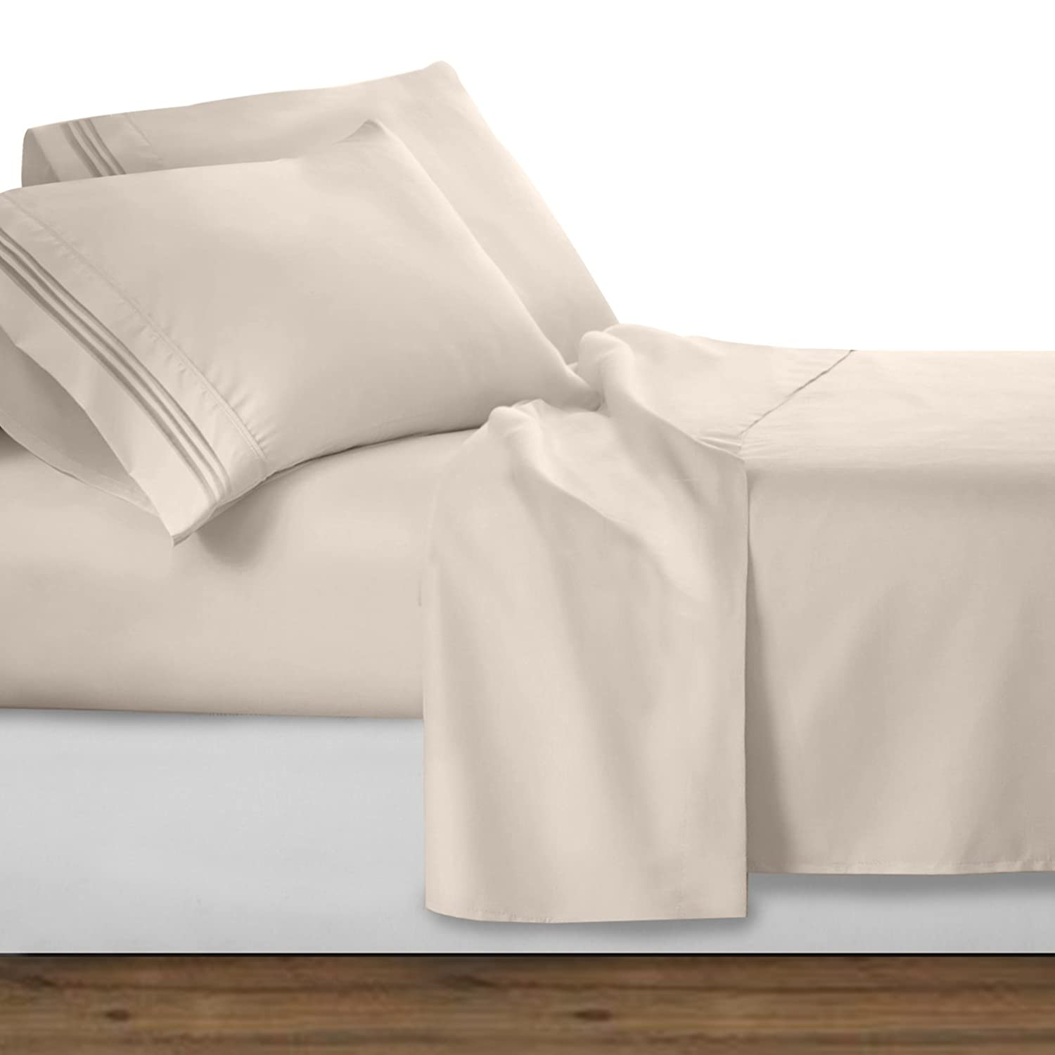 Clara Clark Premier 1800 Series 4pc Bed Sheet Set