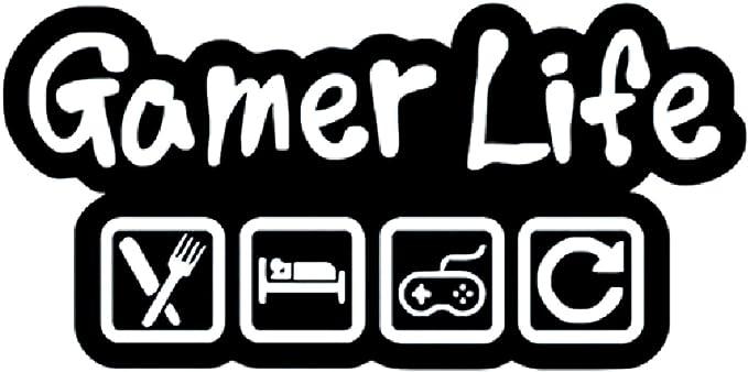 Gamer Decals Creative Gamer Wall Sticker