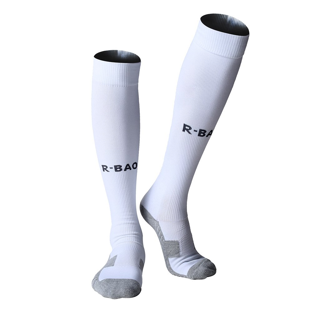 R-BAO Football Socks, Soccer Socks, Sport Socks for Men Women Young, Large JJ-002