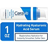 CeraVe Hyaluronic Acid Face Serum | 1 oz | Hydrating Serum for Face with Vitamin B5 | For Normal to Dry Skin | Paraben…