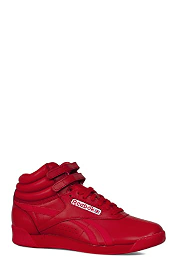4c03ab9b49e Reebok Women s F S HI Spirit Sneaker Excellent red White 5 ...